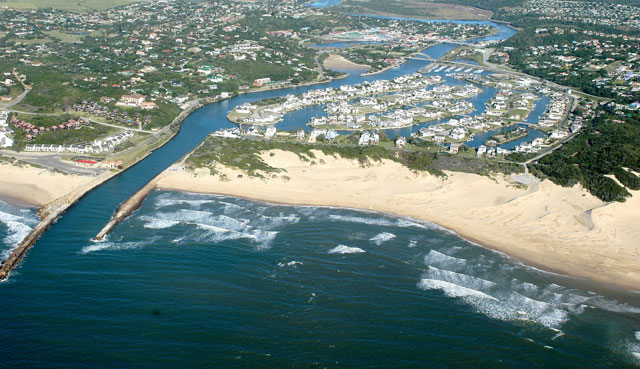 Bird's view of Port Alfred